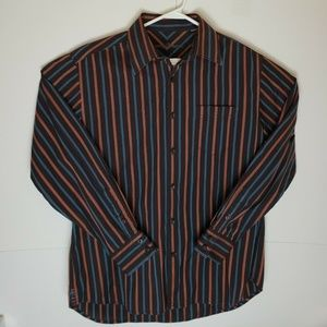 Tommy Bahama Button Down Striped Shirt